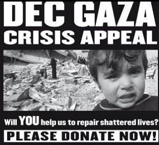 DEC gaza appeal